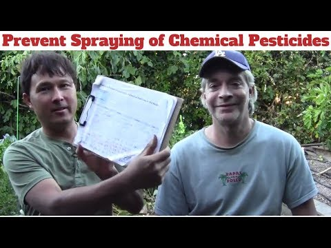 Prevent Spraying of Chemical Pesticides in Your Neighborhood