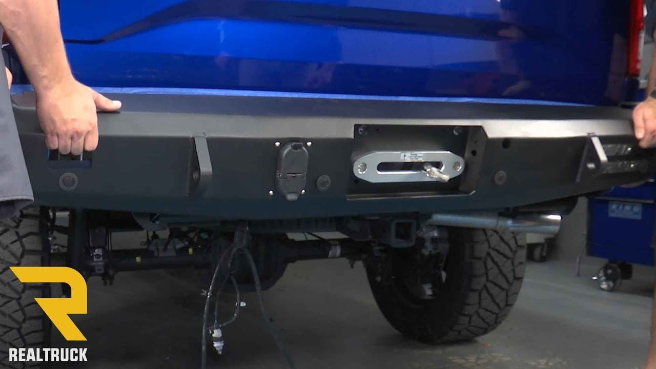 Ford F 150 2017 >> How to Install Road Armor Stealth Rear Bumper on a 2017 Ford F-150 - YouTube