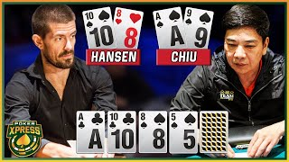 Gus Hansen vs. David Chiu: one of the MOST EPIC heads-up poker battles!