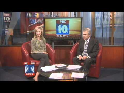Allyson Berger, the Intern for Fox 10 AZ