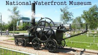 Penydarren Locomotive In Steam & Motion 2014