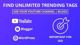 How to Find Trending Tags || Get Traffic on YouTube Channel and Website