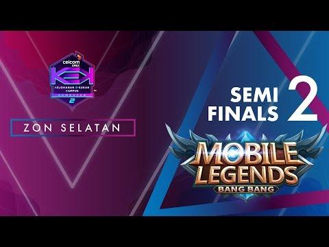 MLBB CELCOM #XPAXKEK SEM 2 Semi Final 2 Zon Selatan- SKADOOSH [PoliPd] vs Team Blank [UTHM]
