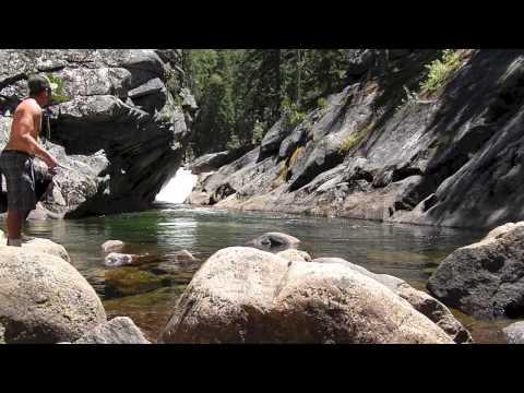 Yosemite- Nevada And Vernal Falls, Trout Fishing