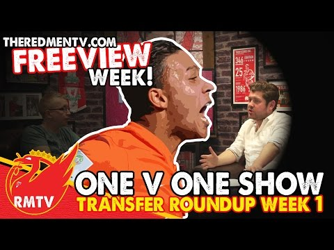 Transfer Roundup Week 1 | One v One Show | RMTV Freeview Week
