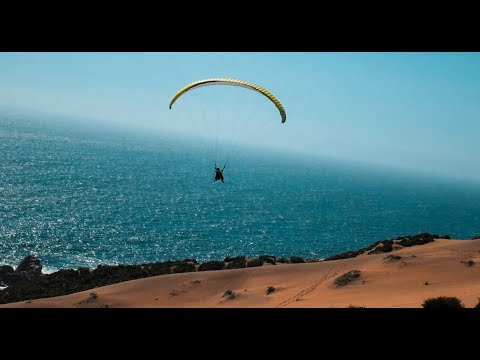 PARAGLIDING IN SOUTH AMERICA - Viña Del Mar, Chile (MUST DO IN CHILE)