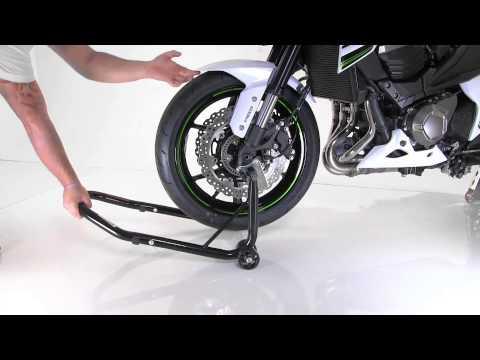 Tutorial Motorcycle Front Paddock Stand ConStands S Kawasaki Z800