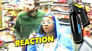 """""""Girl Maces Dude For Being Rude"""" - Sprays Man In Face With Pepper Spray (Reaction)"""