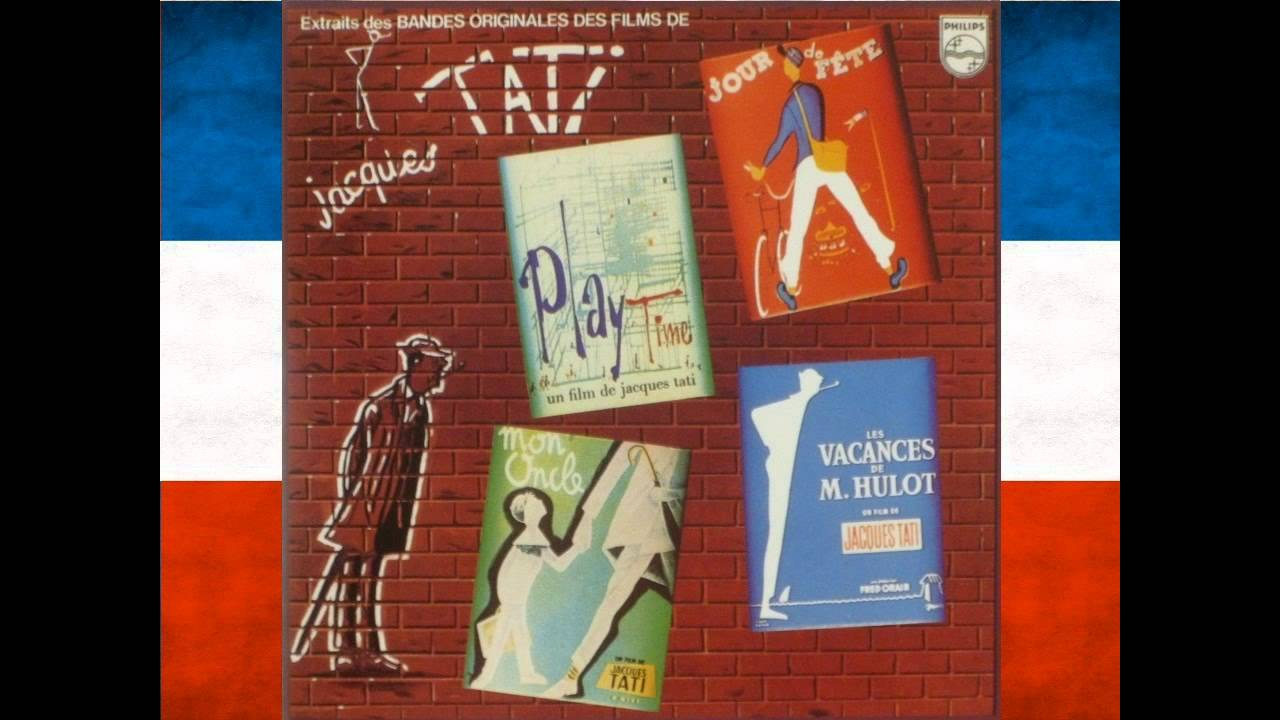 Jacques Tati - Soundtrack Music from 'Mon Oncle' - YouTube