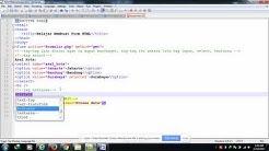 Belajar HTML Part 15 Cara Membuat Form di HTML tag textarea
