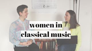 WOMEN IN CLASSICAL MUSIC with Rosalía Gómez Lasheras