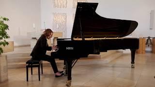 Chopin - Fantaisie- Impromptu Opus 66- Claire Pasquier - FAZIOLI 278