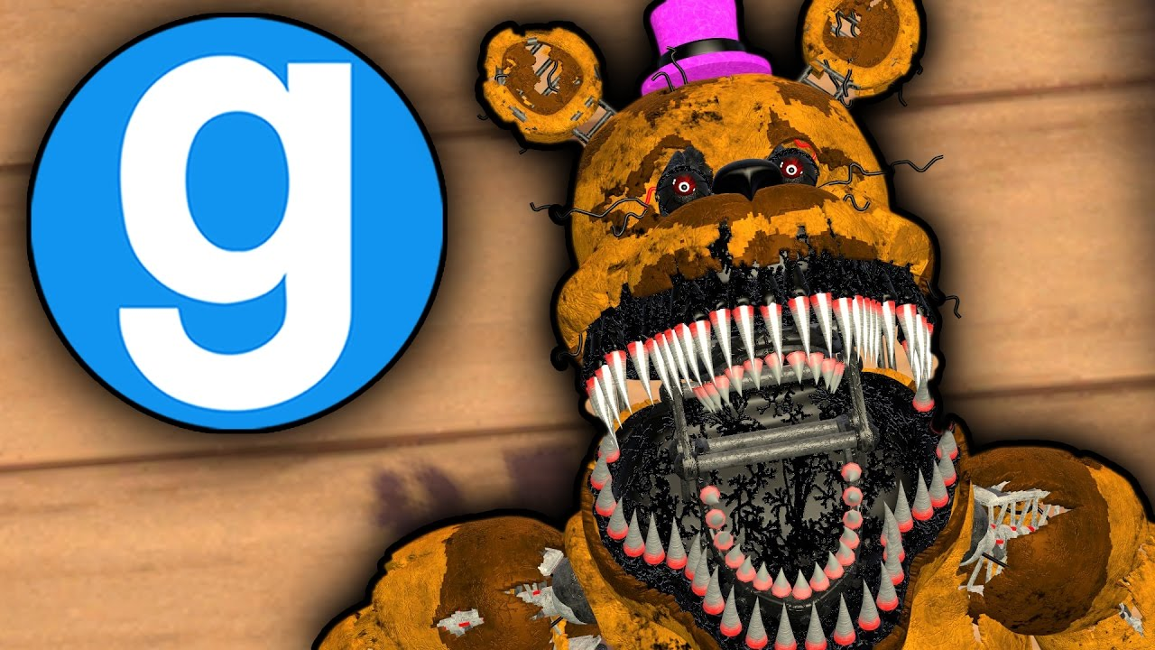 NEW NIGHTMARE FREDBEAR! | THIS FNAF 4 PILL PACK IS ONE OF THE BEST | Five  Nights at Freddy's Gmod