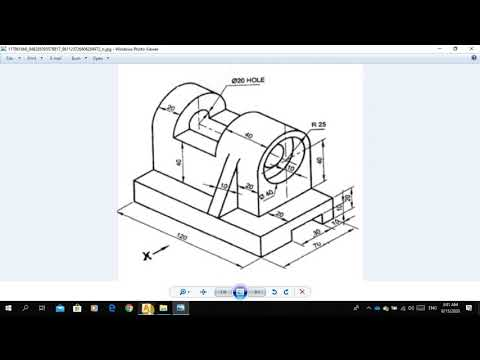 استخدام-الاتوكاد-في-رسم-المجسمات-|-using-autocad-2020-to-draw-solids-|-extrude-|-2d-|-presspull