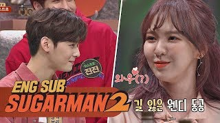 """Mommy...!"" Cha Eun-woo vs. Wendy: The Real Reaction from a Staring Contest 
