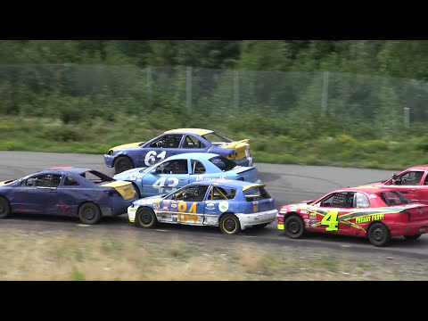Thunder Valley Speedway - Hobby Stock Qualifying & Race #6