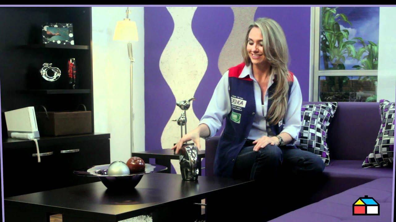 Ideas para decorar tu sala youtube for Ideas para decorar tu casa reciclando