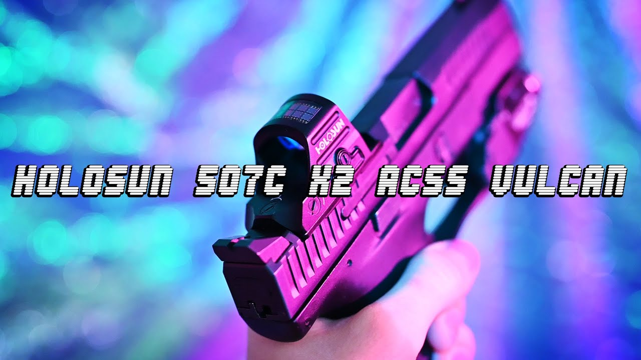 My New Favorite Handgun Optic - The Holosun 507C X2 with ACSS Vulcan Reticle