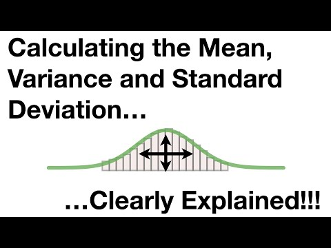 Statistics Fundamentals: The Mean, Variance And Standard Deviation