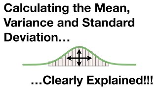 Statistics Fundamentals: The Mean, Variance and Standard Deviation