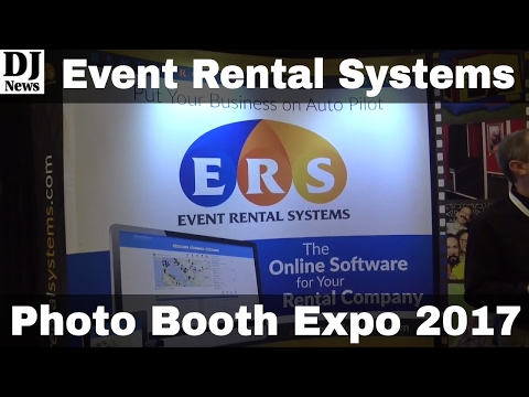 Booking Software From Event Rental Systems | Photo Booth Expo 2017 | Disc  Jockey News