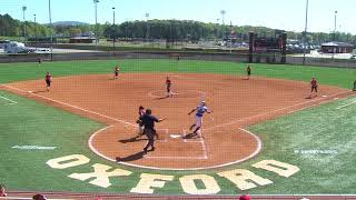 Jacksonville State Softball Highlights - JSU DH vs. Tennessee State - April 8, 2018