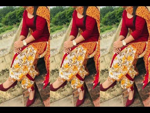 Latest Punjabi salwar suit cotton designs 😍 trendy plain cotton suit | suits for summer season