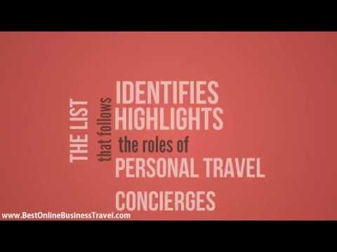 Personal Travel Concierge and their Role on All Inclusive Travel Deals