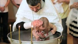 Таинство крещения Video krštenje(красивый трогательный видеоролик Video krštenje крестины в Краснодарской церкви видеосъемка крестин фотосъемка..., 2013-03-22T22:10:48.000Z)
