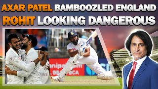 Axar Patel Bamboozled England | Rohit looking dangerous | Day 1
