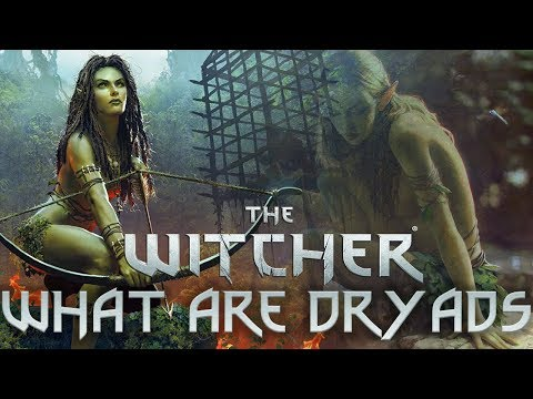 What Are Dryads? - Witcher Lore - Witcher Mythology - Witcher 3 lore - Witcher Races Lore