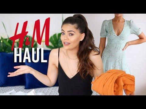 H&M SUMMER TRY ON HAUL! I'M IN LOOOOOVE! BIKINI, DRESSES, PLAYSUITS.. thumbnail