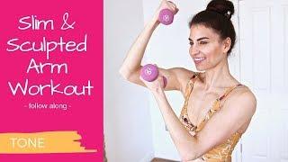 Slim & Sculpted Arm Workout - follow along