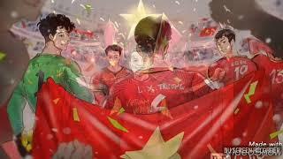 Loạt Ảnh Chibi Cực Cute Của Đội Tuyển U23 Việt Nam