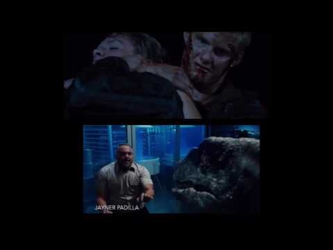 the hunger games catos death vs jurassic world