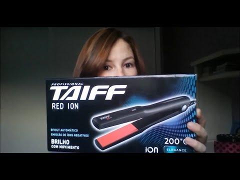 5c5b8140e Resenha - Prancha Taiff Red Íon - YouTube