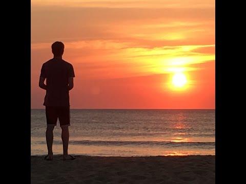 Drone sunrise over Virginia Beach