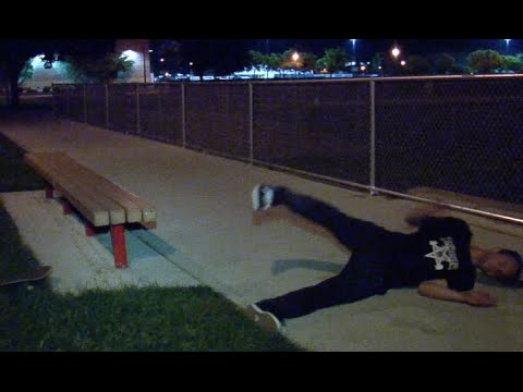 Kevin McQuarrie Halfcab Noseslide bs Tail Bigspin Untold Story