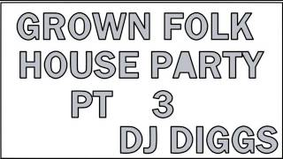 GROWN FOLK HOUSE PARTY PART 3(INCLUDES THE WOBBLE AND CHUCK BABY)....DJ DIGGS