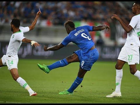 Highlights: Arabia Saudita-Italia 1-2 (28 maggio 2018)