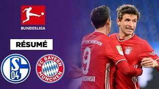 Résumé : Le Bayern sans pitié pour Schalke, 0-4 !