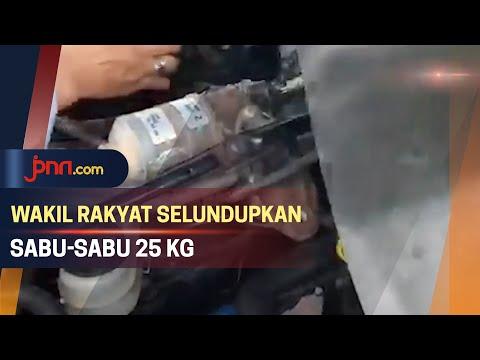 Edan! Wakil Rakyat Terlibat Penyelundupan Narkoba 25 Kg