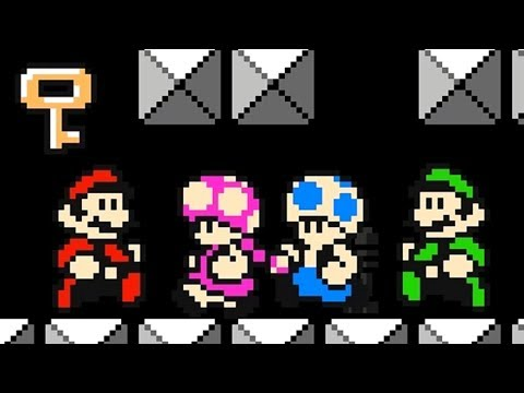 Super Mario Maker 2 - Online Versus Mode #9 (4 Player Matches)