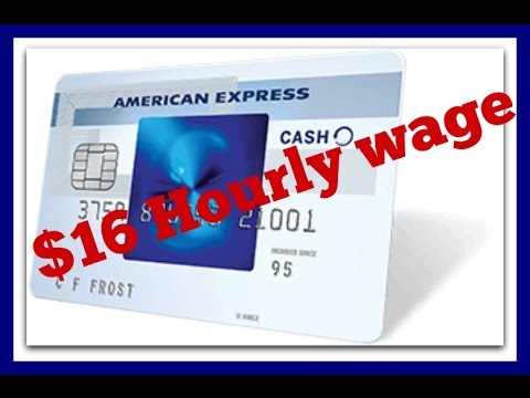 $16/hr Work@Home How To Get HIRED With AMERICAN EXPRESS.2016 ( CA, NY Included )