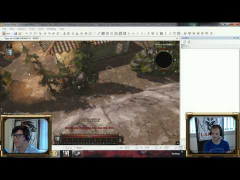 [Twitch.tv] Divinity Engine Toolkit Tutorial. Create a Level!