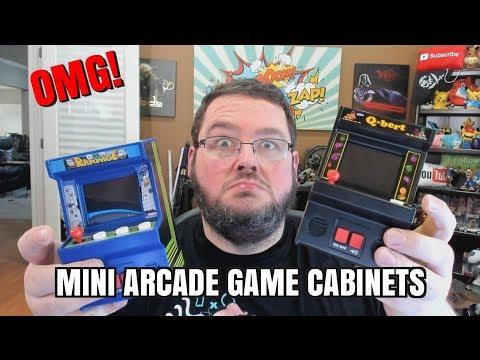 Product Review! Arcade Classics: Mini Arcade Games From Walmart.