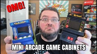 product review! Arcade Classics: mini arcade games from walmart.