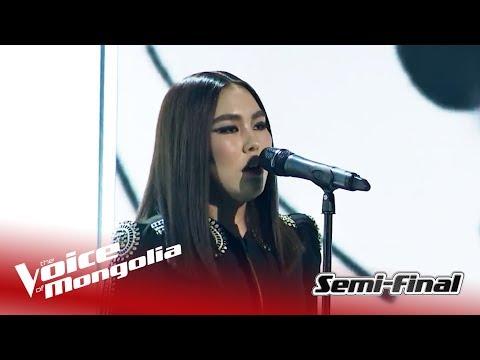 "Enguun - ""Creep""   Semi-Final   The Voice of Mongolia 2018"