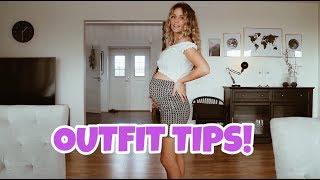 TIPS | Använder mina vanliga kläder när jag är gravid!!
