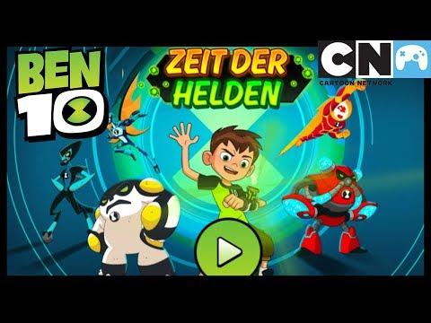 Ben 10 Spiele - Zeit der Helden | Ben 10 Deutsch | Cartoon Network